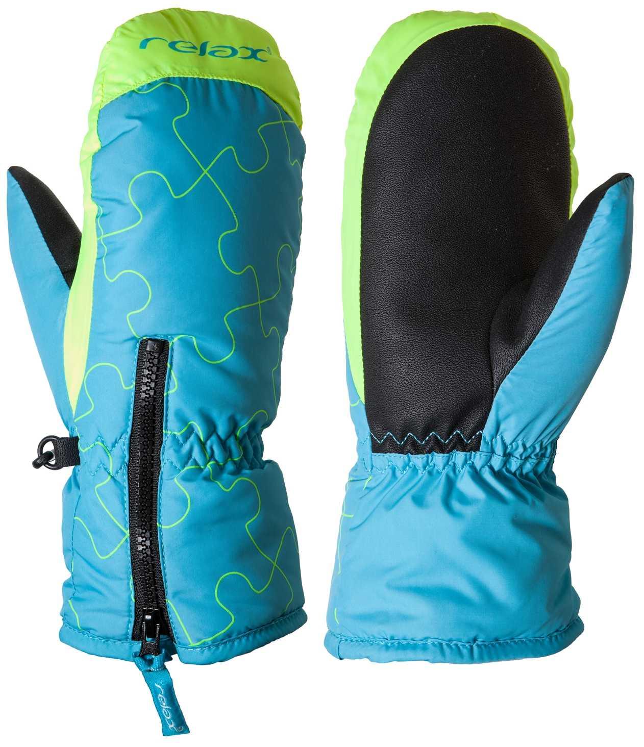 d0ef3eb4886 Dětské lyžařské rukavice PUZZYTO RR17C blue 4 ROKY