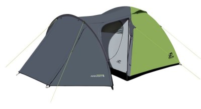 stan HANNAH CAMPING Arrant 4 spring green/cloudy gray spring green/cloudy gray