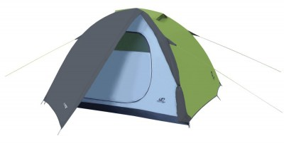stan HANNAH CAMPING Tycoon 3 spring green/cloudy gray spring green/cloudy gray