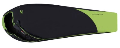 spací pytel HANNAH CAMPING Scout W 120 dark shadow/greenery dark shadow/greenery 175L