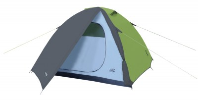 stan HANNAH CAMPING Tycoon 4 Spring green/cloudy gray