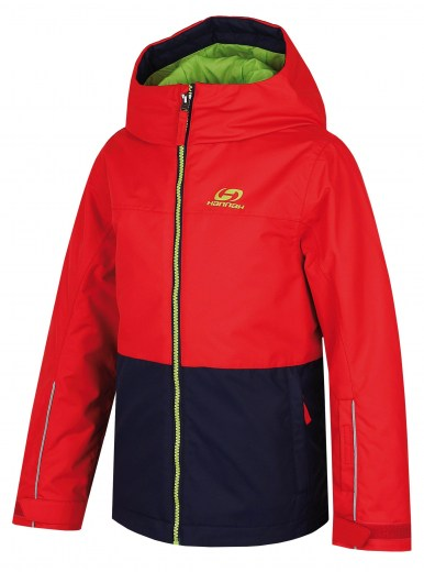 bunda Shifty JR Fiery red/peacoat 116