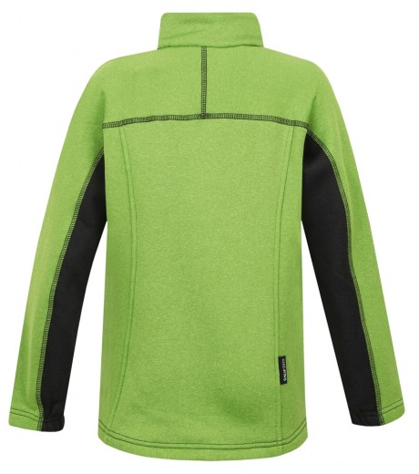 mikina Rusty JR Anthracite/lime green 116