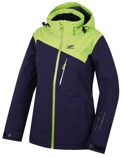 bunda Wayne Peacoat/lime green 36