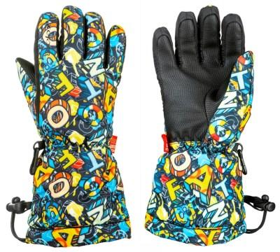 28c48141456 Dětské Lyžařské rukavice Relax PUZZY
