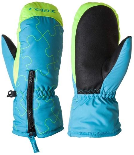 Dětské Lyžařské rukavice Relax PUZZYTO 22d132f00f